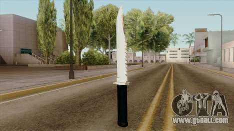 Original HD Knife for GTA San Andreas second screenshot