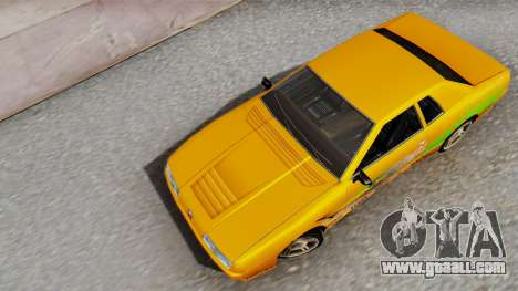 Elegy Supra PJ for GTA San Andreas back view