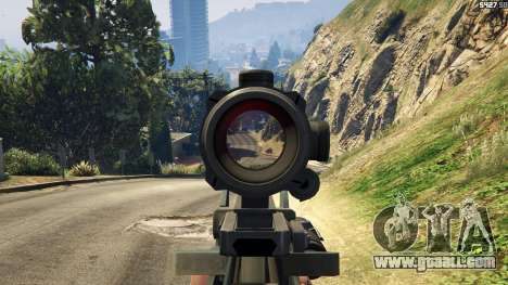 GTA 5 Battlefield 4 Famas sixth screenshot