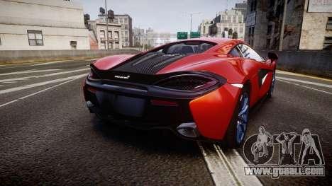 McLaren 570S 2015 rims3 for GTA 4 back left view