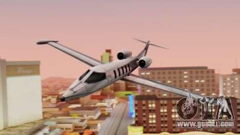 Shamal from GTA Vice City v1.0 for GTA San Andreas