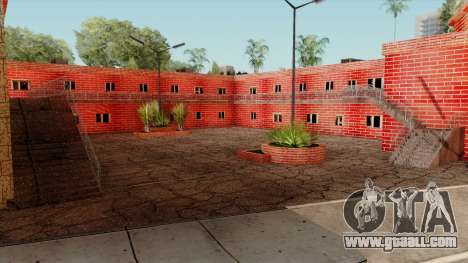 Motel Jefferson for GTA San Andreas third screenshot