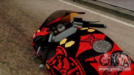 Bati Batik for GTA San Andreas back view