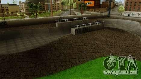 HD Skate Park for GTA San Andreas forth screenshot