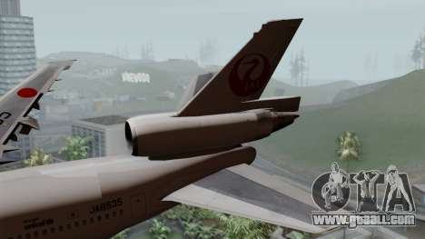 DC-10-30 Japan Airlines for GTA San Andreas back left view