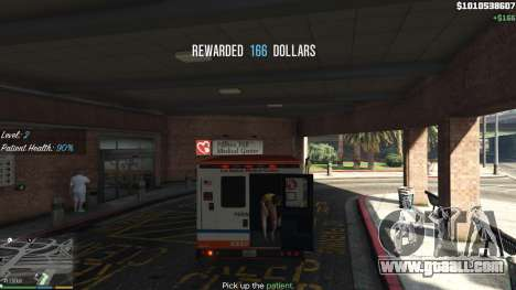 GTA 5 Mission ambulance v.1.3 fifth screenshot