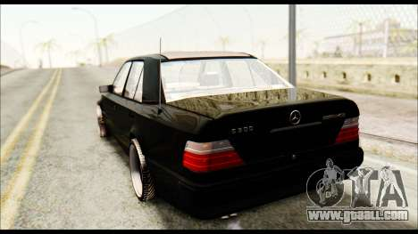 Mercedes-Benz E500 W124 for GTA San Andreas left view