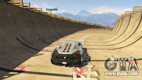 GTA 5 Maze Bank Mega Spiral Ramp fifth screenshot