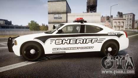 Dodge Charger 2010 New Alderney Sheriff [ELS] for GTA 4 left view