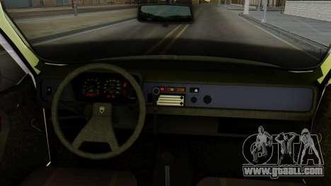 Dacia 1310 Militia for GTA San Andreas back left view