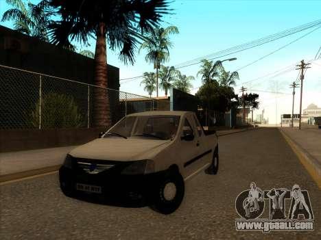 Dacia Logan Pick-up Necarosat for GTA San Andreas