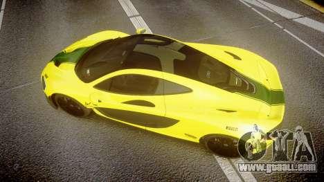 McLaren P1 2014 [EPM] Harrods GTR for GTA 4 right view