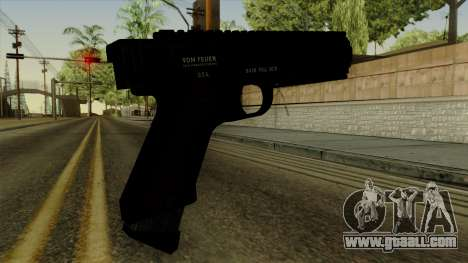 AP Pistol for GTA San Andreas second screenshot
