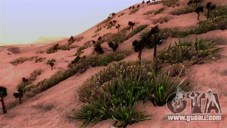 Real texture vegetation for GTA San Andreas