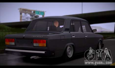 VAZ 2107 Runoff Quality for GTA San Andreas side view