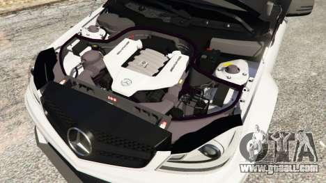 Mercedes-Benz C63 AMG 2012 for GTA 5