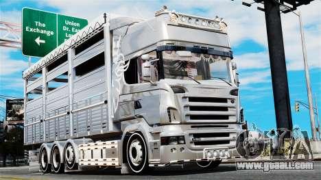 Scania R580 for GTA 4