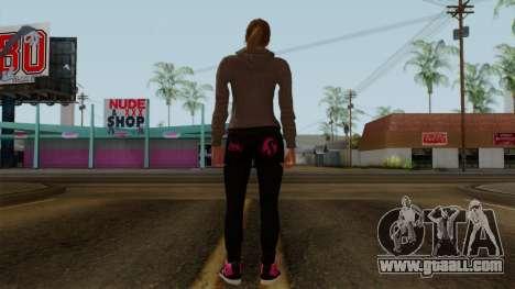 GTA 5 Online Female02 for GTA San Andreas third screenshot