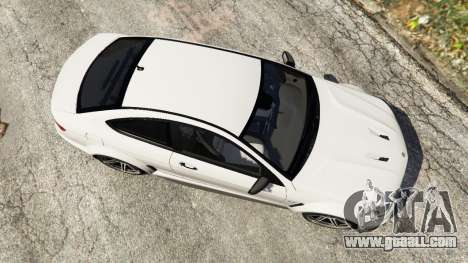 GTA 5 Mercedes-Benz C63 AMG 2012 back view