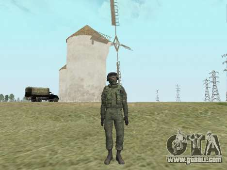 Pak fighters of special troops of GRU for GTA San Andreas sixth screenshot