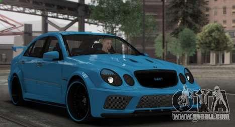 Mercedes-Benz E63 Qart Tuning for GTA San Andreas upper view