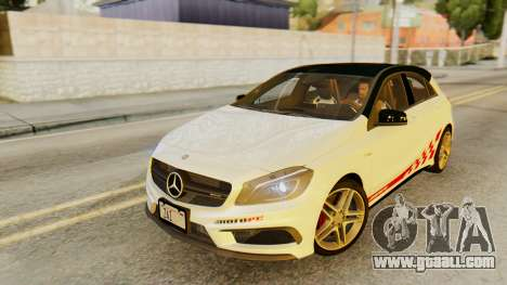 Mercedes-Benz A45 AMG 2012 PJ for GTA San Andreas wheels