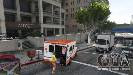 GTA 5 Mission ambulance v.1.3 fourth screenshot