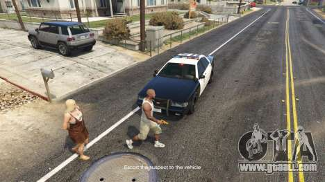 GTA 5 Arrest Peds V (Police mech and cuffs) third screenshot