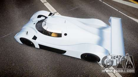 Toyota GT-One TS020 blank spoiler for GTA 4 right view