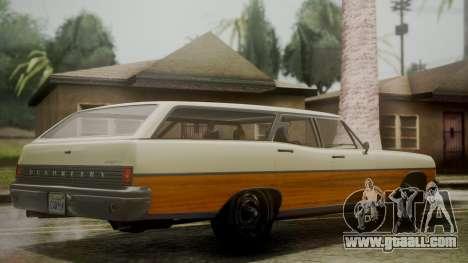 GTA 5 Dundreary Regina IVF for GTA San Andreas left view