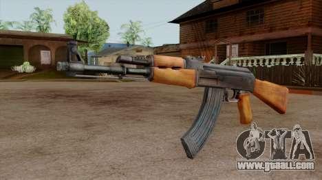 Original HD AK-47 for GTA San Andreas second screenshot