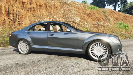 GTA 5 Mercedes-Benz S500 W221 v0.2 [Alpha] left side view