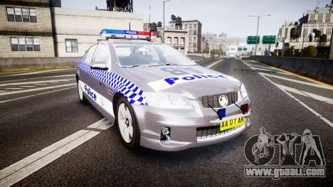 Holden VE Commodore SS Highway Patrol [ELS] for GTA 4