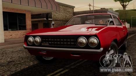 GTA 5 Declasse Vigero IVF for GTA San Andreas left view