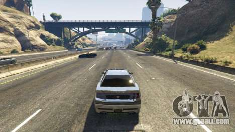 GTA 5 Death trap on the highway third screenshot