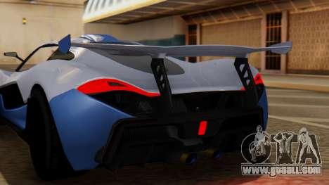 Progen T20 GTR for GTA San Andreas back view