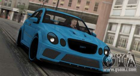 Mercedes-Benz E63 Qart Tuning for GTA San Andreas bottom view