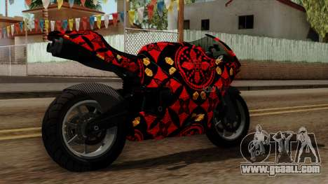 Bati Batik for GTA San Andreas left view