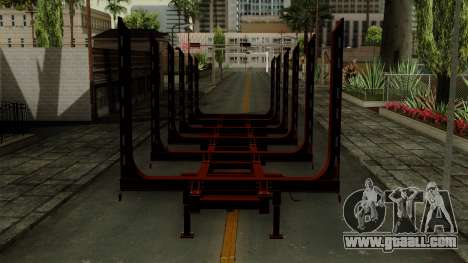 Trailer Log v1 for GTA San Andreas back view