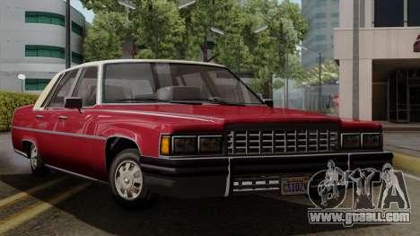 GTA 5 Albany Emperor IVF for GTA San Andreas