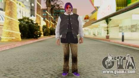 [GTA5] Ballas Member for GTA San Andreas second screenshot