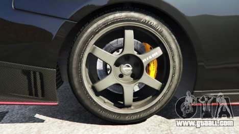 Nissan GT-R Nismo 2015 for GTA 5
