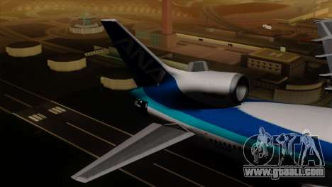 Lockheed L-1011 TriStar All Nippon Airways for GTA San Andreas back left view