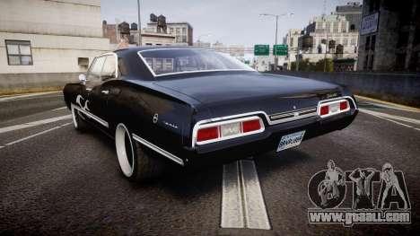 Chevrolet Impala 1967 Custom livery 4 for GTA 4 back left view
