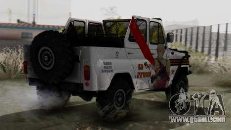 УАЗ 469 Ivan Braginsky for GTA San Andreas left view