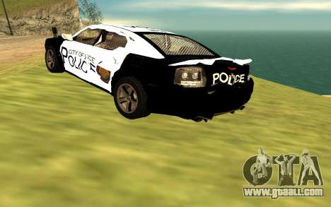 Dodge Charger Super Bee 2008 Vice City Police for GTA San Andreas back view