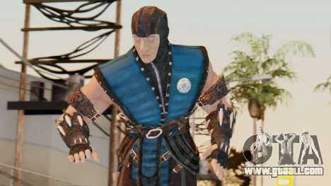 [MKX] Sub-Zero Unmasked for GTA San Andreas