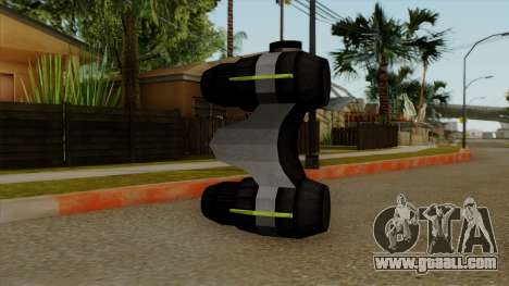 Original HD NV Goggles for GTA San Andreas second screenshot