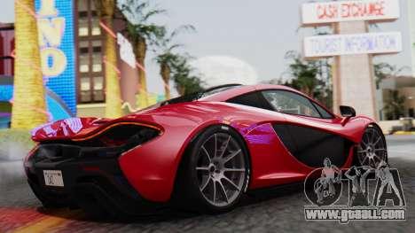 Progen T20 for GTA San Andreas left view