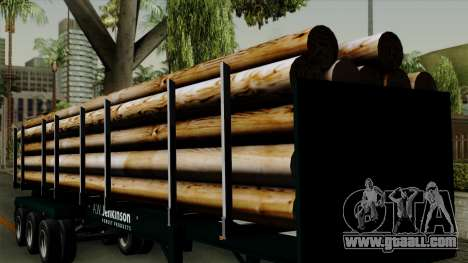 Trailer Log v2 for GTA San Andreas inner view